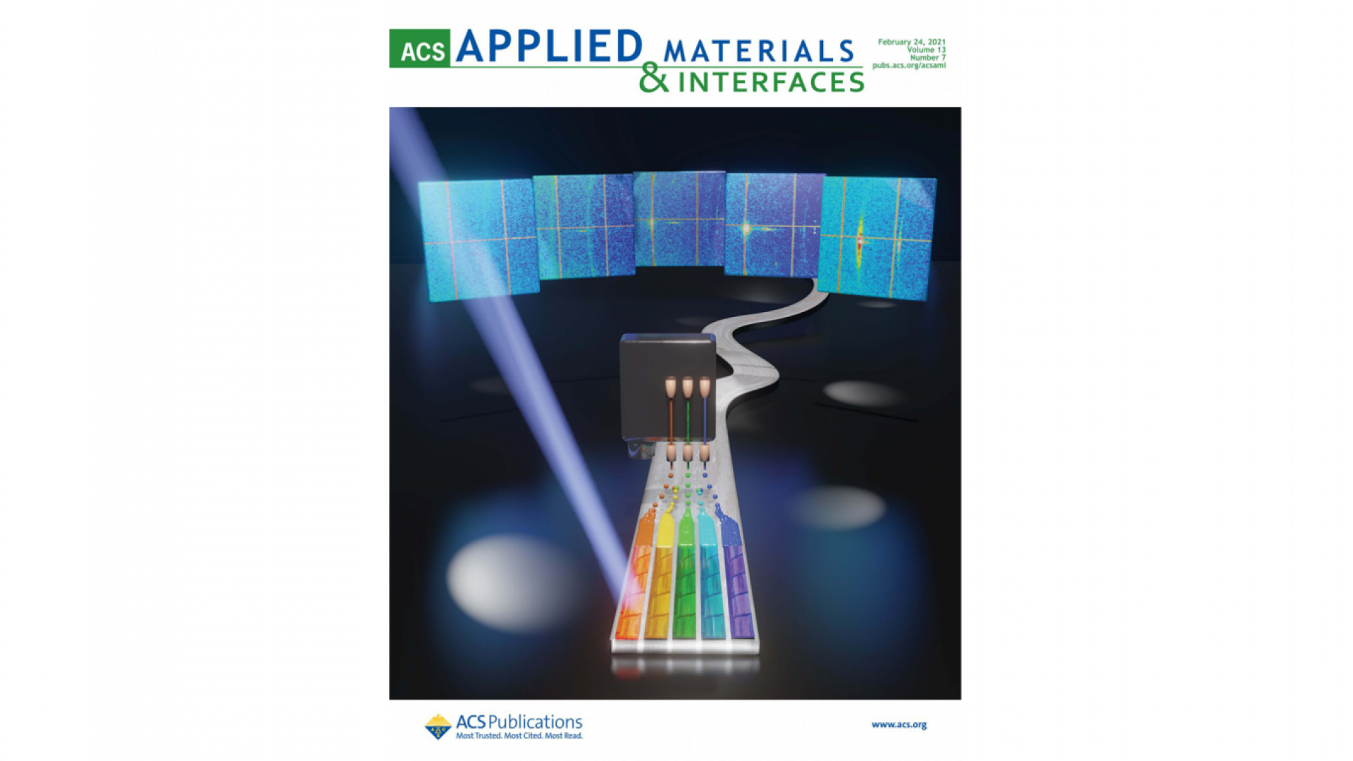 New Cover in ACS Applied Materials & Interfaces on combinatorial screening of superconductors