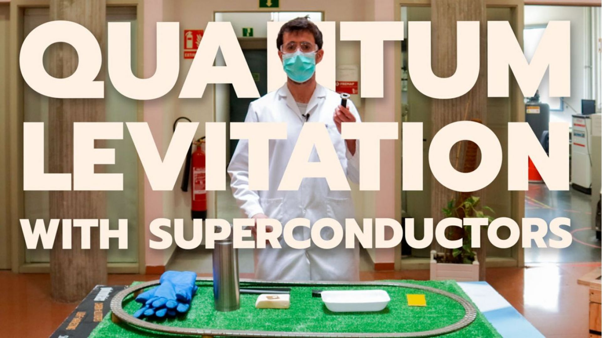 New outreach video: What are superconductors, and why do they levitate?